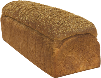 Classic Soft 100% Whole Wheat Naked Bread Loaf