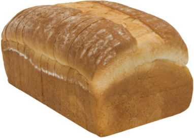 Organic Rustic White Naked Bread Loaf Image