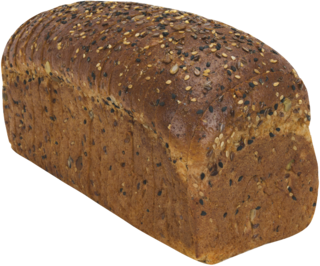 Organic Thin Sliced 22 Grains & Seeds Naked Bread Loaf Image