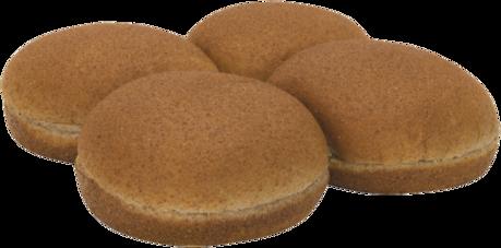 100% Whole Wheat Sandwich Buns Top of Buns