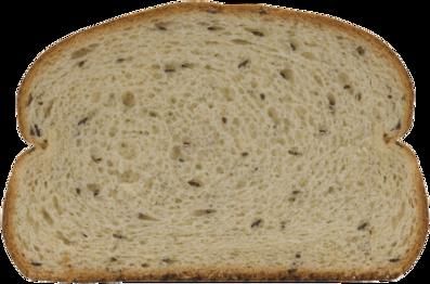Jewish Rye Bread Slice