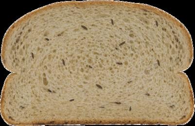 Russian Rye Bread Slice