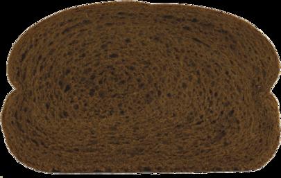 Dark Rye Bread Slice Image