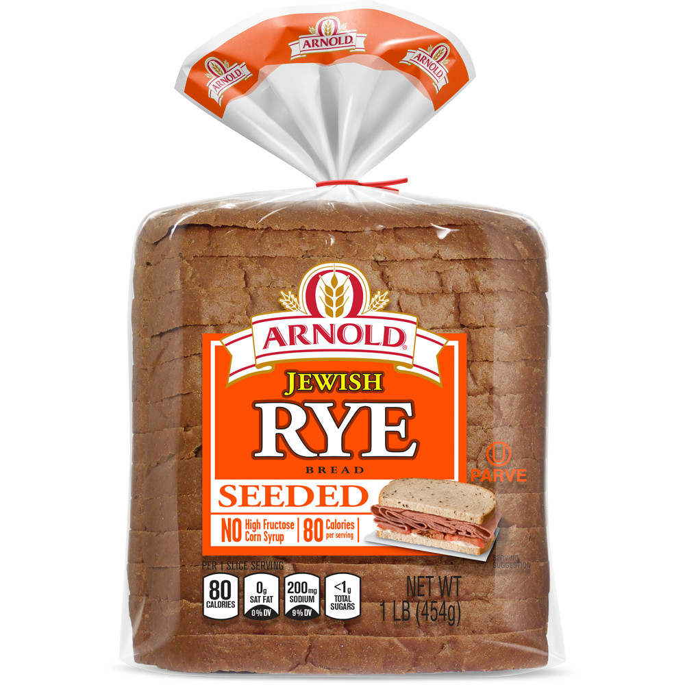 Arnold Jewish Seeded Rye Package Image
