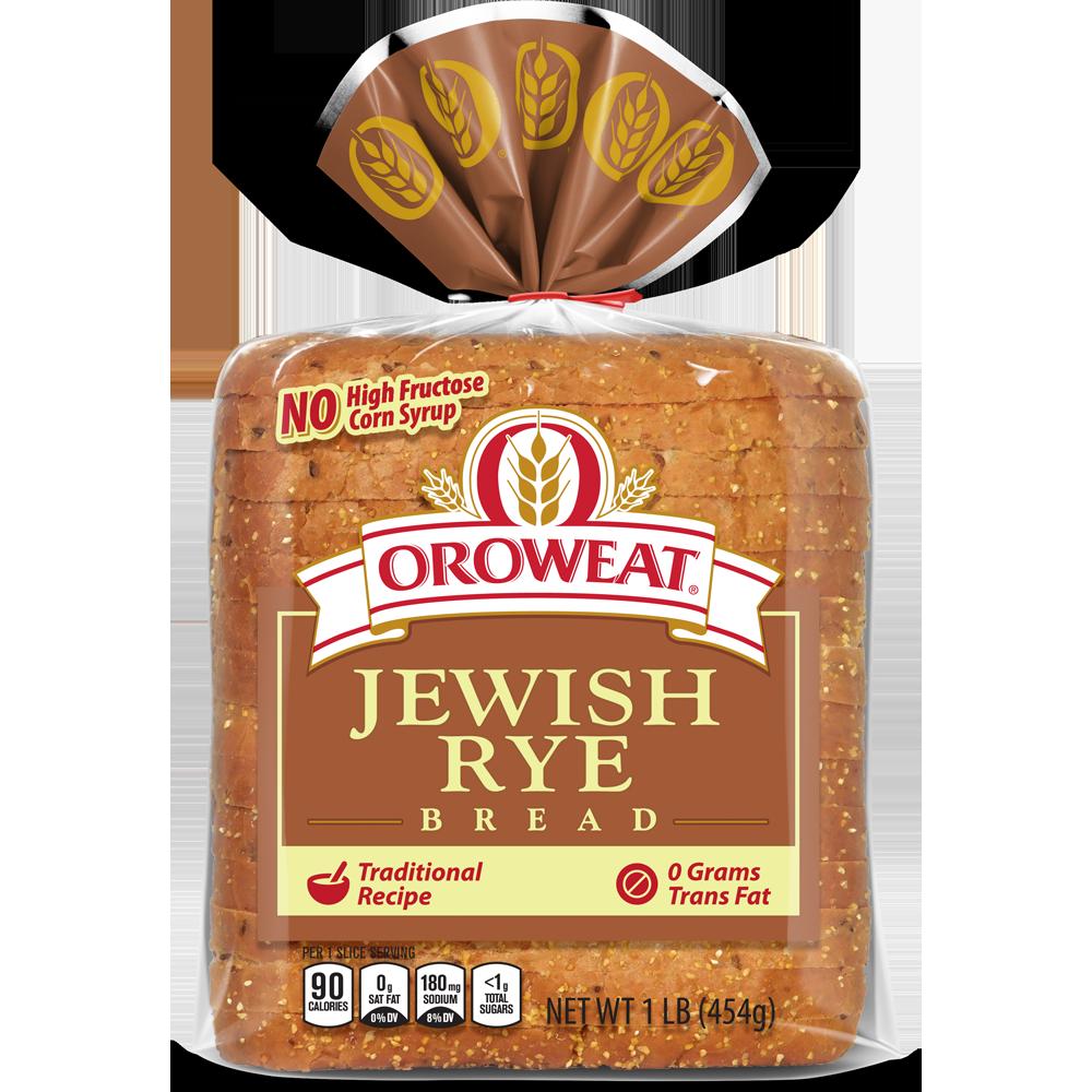 Oroweat Jewish Rye Package Image