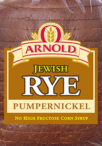 Arnold Pumpernickel Jewish Rye Bread Package