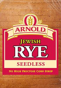 Arnold Seedless Jewish Rye Bread Package