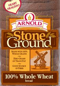 Arnold Stone Ground 100% Whole Wheat Package
