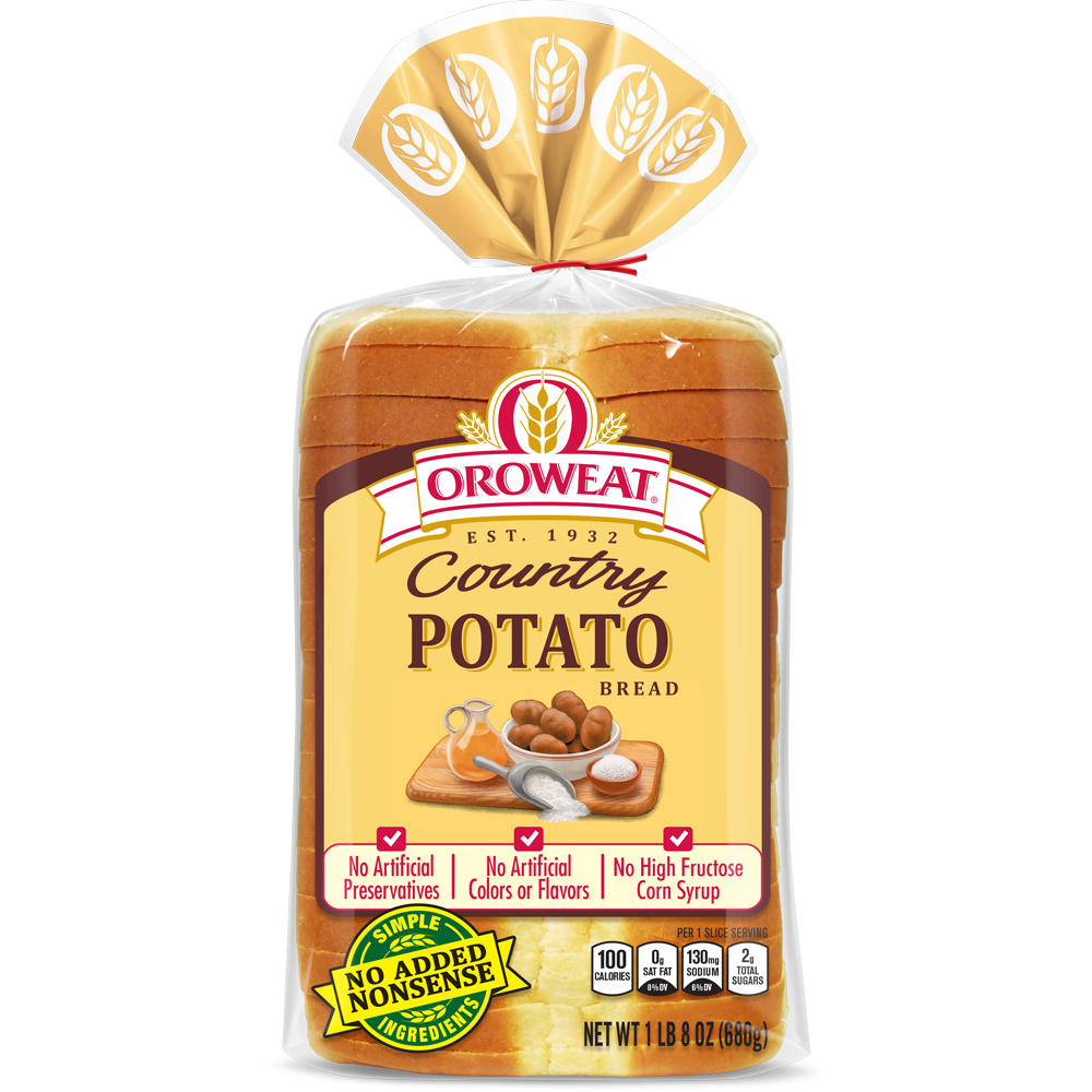 Oroweat Country Potato Bread Package