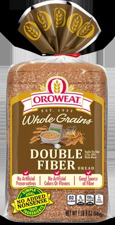Oroweat Double Fiber Bread Package