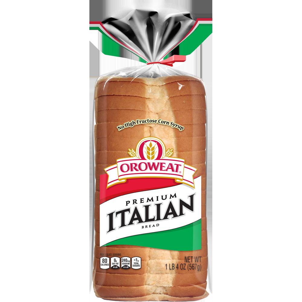 Oroweat Premium Italian Bread Package Image
