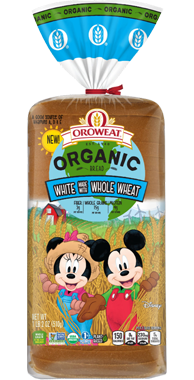 Oroweat Organic Kids White with Whole Wheat Product