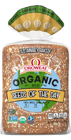 Oroweat Organic Seeds of the Day Package