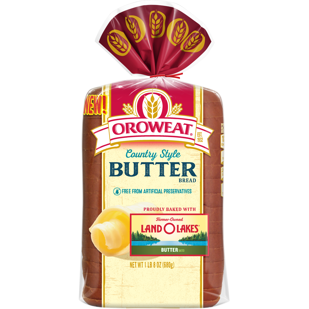 Oroweat Country Style Butter Bread 24oz