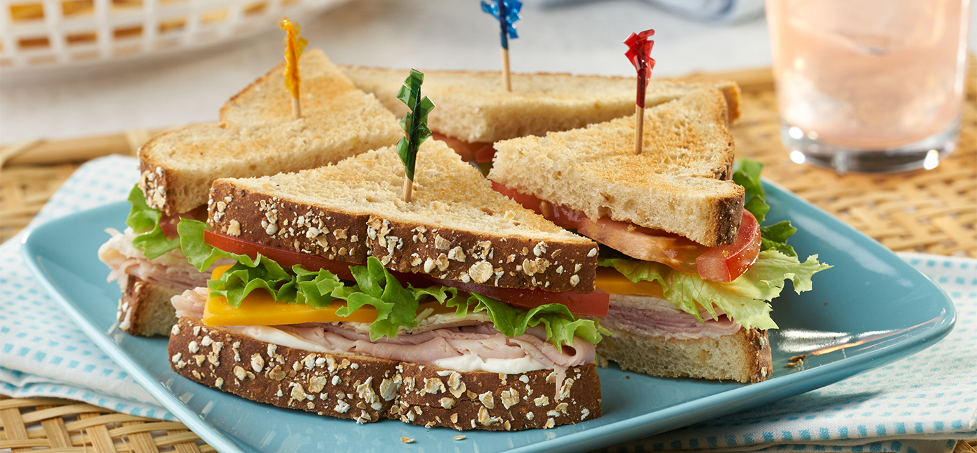 Mini Club Combo Sandwiches - Recipe Image