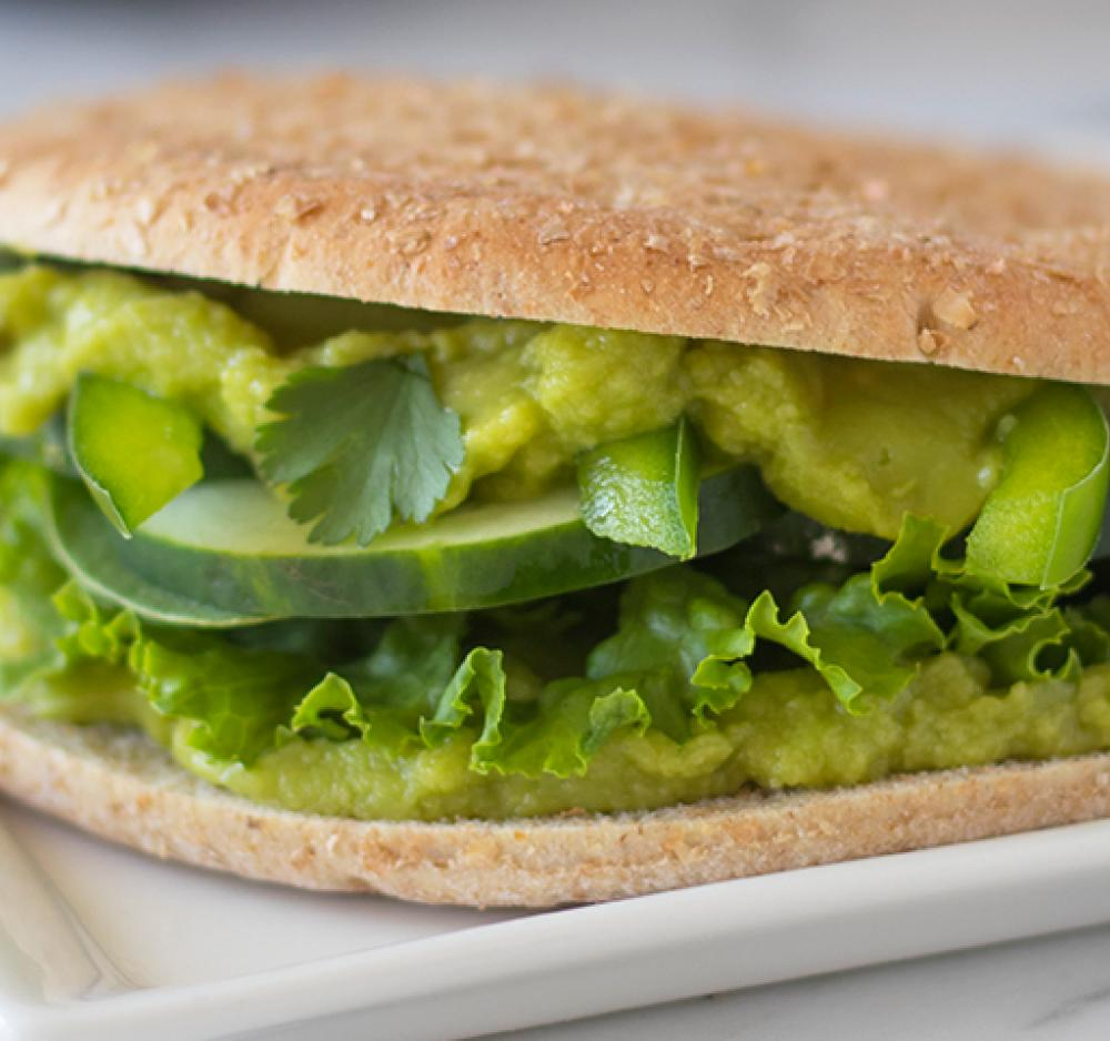 Green Goddess Sandwich Recipe Image